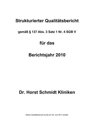 Qualitätsbericht - Endfassung 110630 - KTQ