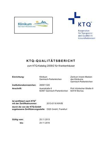 KTQ-QUALITÄTSBERICHT
