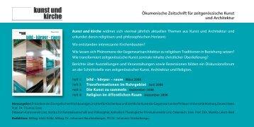 Bestellkarte kunst und kirche 436.14 Kb - Katholisch-Theologische ...