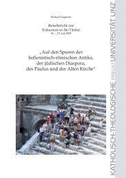 Reisebericht Türkei-Exkursion 2005 Internet.indd - Katholisch ...