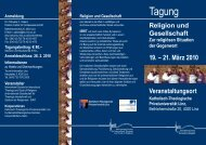 Tagung - Katholisch-Theologische Privatuniversität Linz