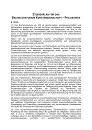 Studienplan Bachelorstudium - Katholisch-Theologische ...