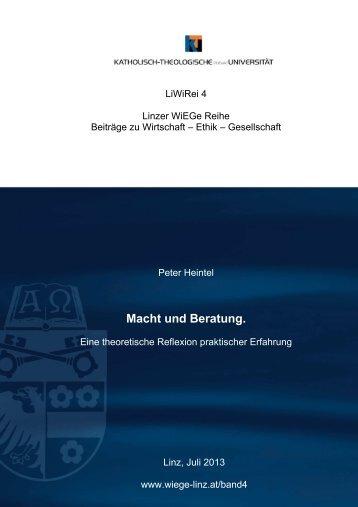 LiWiRei 4 Linzer WiEGe Reihe - Katholisch-Theologische ...
