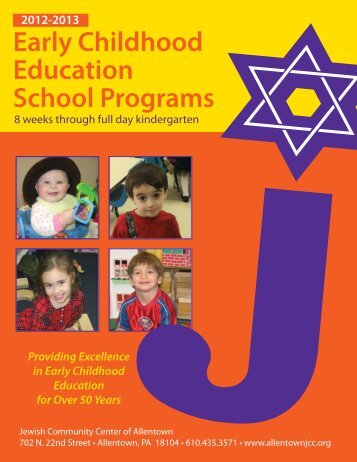 Early Childhood Education School Programs - Allentown JCC