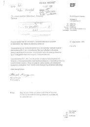 Pensionsbidrag af honorar til honorarlønnede kliniske professorer ...