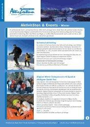 Übersicht Winter Aktionen (pdf) - Allgäuer Hof