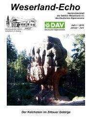 Weserland-Echo 1 - 2010 - 01 - mit PDFCreator - Deutscher ...