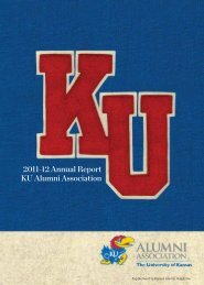 2011-12 Annual Report KU Alumni Association