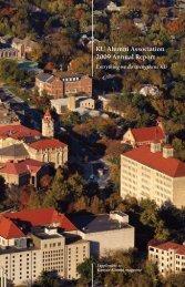 KU Alumni Association 2009 Annual Report