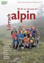 Lörrach alpin 22.indd - DAV Sektion Lörrach
