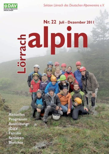 Lörrach alpin 22.indd - DAV Sektion Lörrach