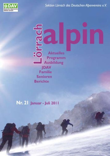 Alpin - DAV Sektion Lörrach