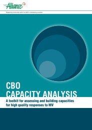 CBO capacity analysis toolkit - Basic Services Fund SOUTH SUDAN