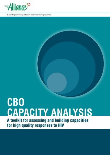 CBO capacity analysis toolkit - Basic Services Fund SOUTH SUDAN