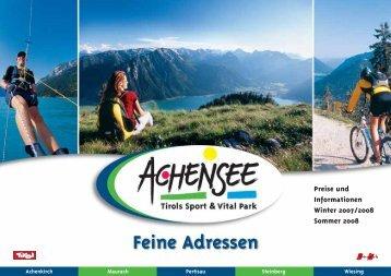 achensee - Sporthotel Alpenrose