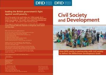 Civil Society and Development - Shebacss.com