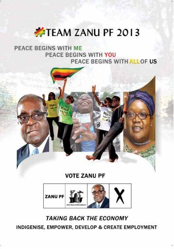 The Zanu-PF Election Manifesto - Kubatana