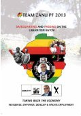 The Zanu-PF Election Manifesto - Kubatana - Page 6