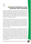 The Zanu-PF Election Manifesto - Kubatana - Page 7