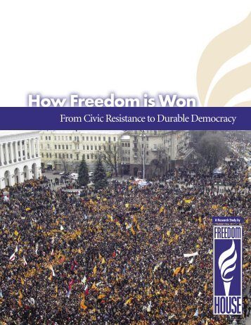 From Civic Resistance to Durable Democracy - Biblioteca Hegoa