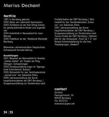 Marius Dechant - Kubiss.de