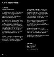 Anke Hellmich - Kubiss.de