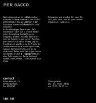 PER BACCO - Kubiss.de