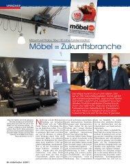 Möbel = Zukunftsbranche - Alliance Verband