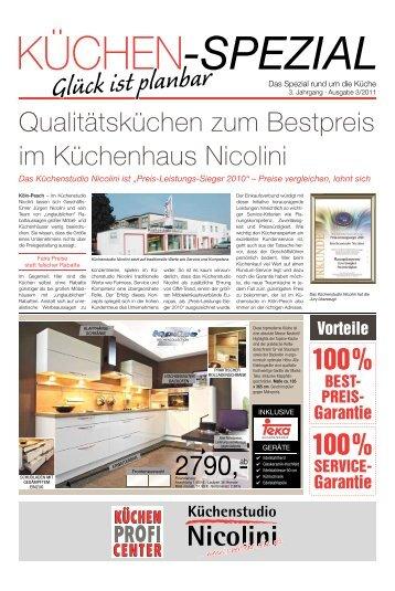 10 Free Magazines From Kuechen Nicolini De