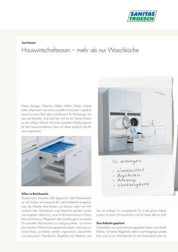 Hauswirtschaftsraum - Sanitas Troesch AG