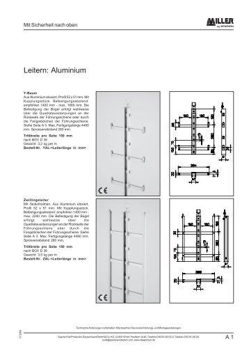 Kapitel A - Leitern Aluminium - Kühling & Co. GmbH