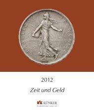 Zeit und Geld 2012 - Fritz Rudolf Künker