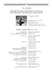 116. AUKTION BELAGERUNG, KRIEG UND FRIEDEN AUF ...