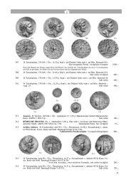 65 507 Ж Tetradrachme, 170/168 v. Chr.; 15,52 g. Kopf r. mit ...