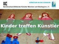Präsentation Kinder treffen Künstler - kuenstler-in-die-schulen
