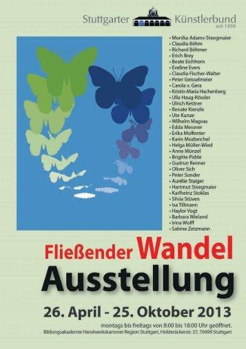 Pressemitteilung - Künstlerbund Stuttgart