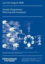 Juni bis August 2008 Soziale Diagramme. Planning Reconsidered
