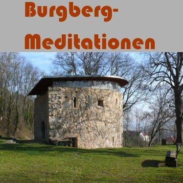 Burgberg-Meditationen - Künstlerseelsorge