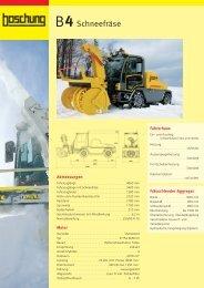Datenblatt B4-DE 09 - Boschung