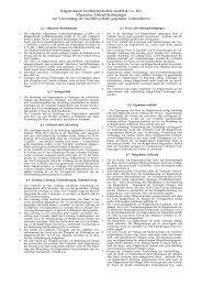 § 1 Allgemeine Bestimmungen - Küppersbusch