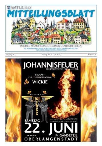 Ausgabe Nr. 25 / 2013 - Markt Küps