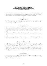 Beitrags- und Gebührensatzung zur Entwässerungssatzung (BGS ...