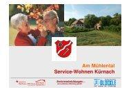 Exposee Service-Wohnen Kürnach neu - Gemeinde Kürnach