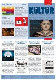 Mayıs / Haziran 2013 Mai/Juni 8-11 Mayıs Kürt Kültür Günleri Mavi ...