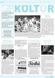 Ocak / Şubat 2012 Kultur-Tipps in türkischer Sprache Januar ...