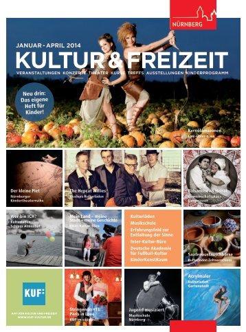 Veranstaltungsprogramm Januar bis April 2014 - KUF