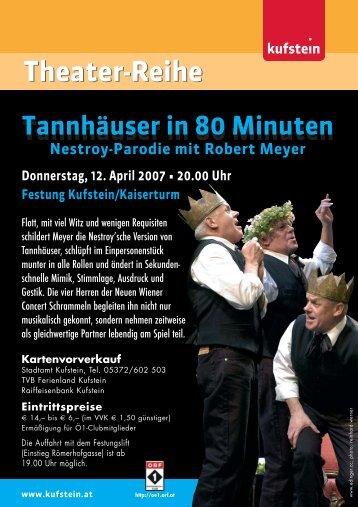 Theater-Reihe - Kufstein