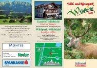Wildpark Wildbichl 2007