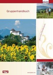 Gruppenhandbuch - Ferienland Kufstein