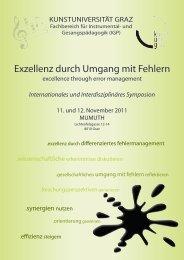 Programmheft 31102011 - Universität für Musik und darstellende ...